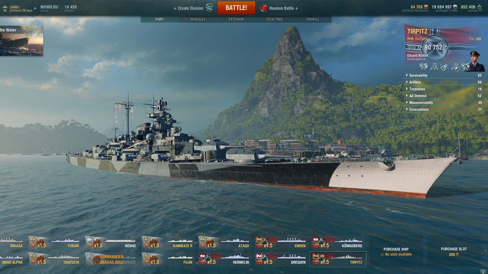 World of Warships Preview 2